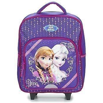 Disney REINE DES NEIGES SAC A DOS TROLLEY pyörillä kulkeva koululaukku