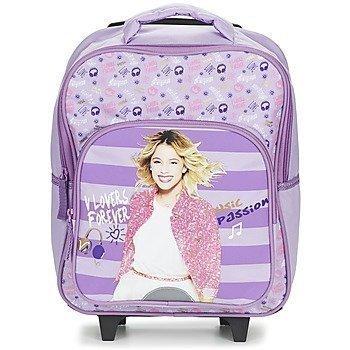 Disney VIOLETTA SAC A DOS TROLLEY 35CM pyörillä kulkeva koululaukku