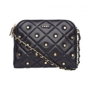 Dkny Barbara Diamond Quilt Zip Crossbody Nahkalaukku