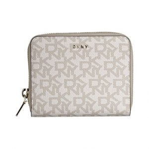 Dkny Bryant Logo Zip Around Lompakko