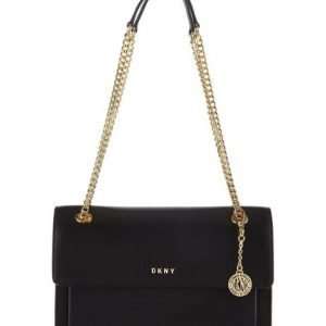 Dkny Bryant Sutton Chain Flap Crossbody Nahkalaukku