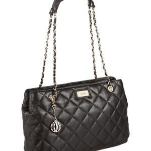 Dkny Gansevoort Quilted Leather Chain Shopper Nahkalaukku