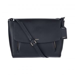 Dkny Greenwich Smooth Messenger Nahkalaukku