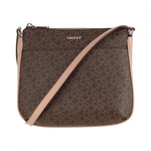 Dkny Heritage Coated Logo Crossbody Laukku