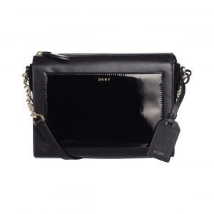 Dkny Patent Leather Chain Item Nahkalaukku