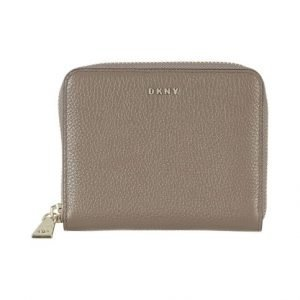 Dkny Pebbled Leather Zip Around Lompakko