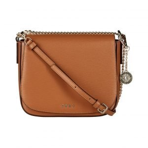 Dkny Sutton Chain Medium Flap Saddle Crossbody Nahkalaukku