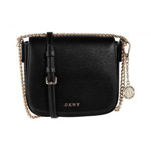 Dkny Sutton Chain Small Flap Saddle Crossbody Nahkalaukku