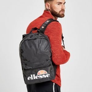Ellesse Camo Backpack Reppu Musta