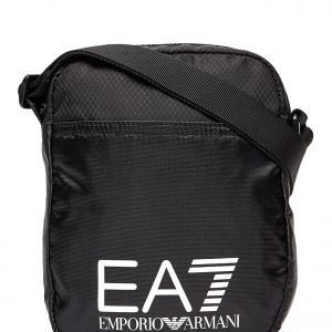 Emporio Armani Ea7 Train Logo Small Pouch Bag Olkalaukku Musta