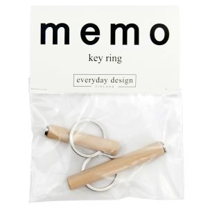 Everyday Design Memo Avaimenperät 2 Kpl