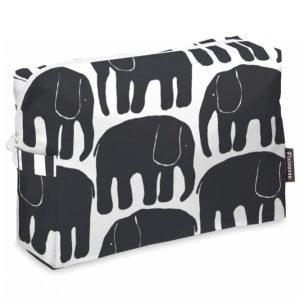 Finlayson Elefantti Toilettilaukku Musta