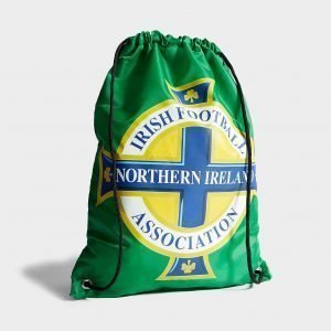 Forever Collectables Northern Ireland Pull String Bag Jumppapussi Vihreä