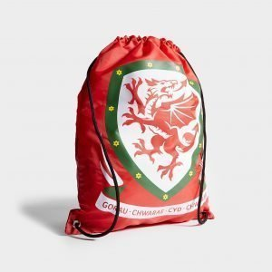 Forever Collectables Wales Fa Pull String Bag Jumppapussi Punainen