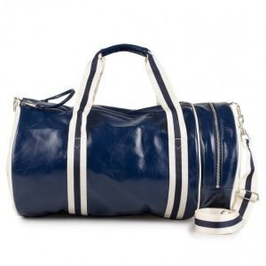 Fred Perry Barrel Bag Laukku Navy/Ecru