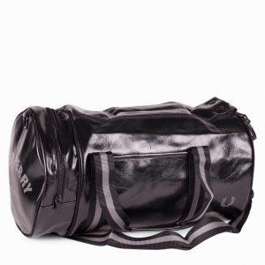 Fred Perry Classic Barrel Bag Laukku Musta