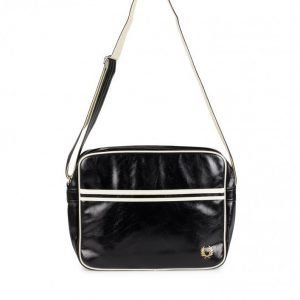 Fred Perry Classic Shoulder Bag Olkalaukku Musta/Ecru