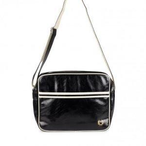Fred Perry Classic Shoulder Bag Olkalaukku Musta/Ecru