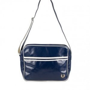 Fred Perry Classic Shoulder Bag Olkalaukku Navy/Ecru