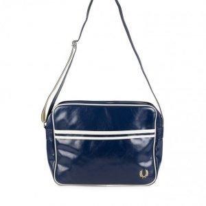 Fred Perry Classic Shoulder Bag Olkalaukku Navy/Ecru