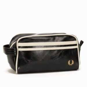 Fred Perry Classic Travel Bag Toilettilaukku Musta