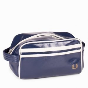 Fred Perry Classic Travel Bag Toilettilaukku Navy/Ecru