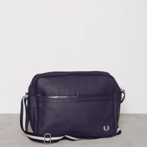 Fred Perry Grain Shoulder Bag Laukku Navy