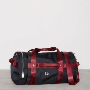 Fred Perry Webbing Barrel Bag Laukku Navy