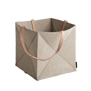Fritz Hansen Laukku Origami Pellava / Nahka