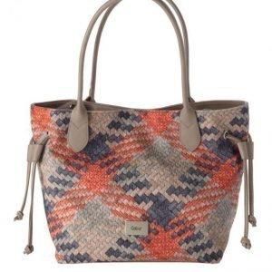 Gabor Käsilaukku Harmaanruskea / Oranssi / Sininen