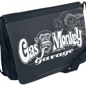 Gas Monkey Garage Logo Olkalaukku