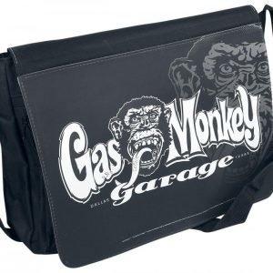 Gas Monkey Garage Logo Olkalaukku
