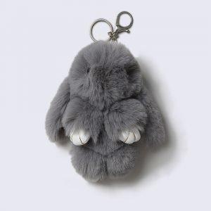 Gina Tricot Grey Bunny Avaimenperä