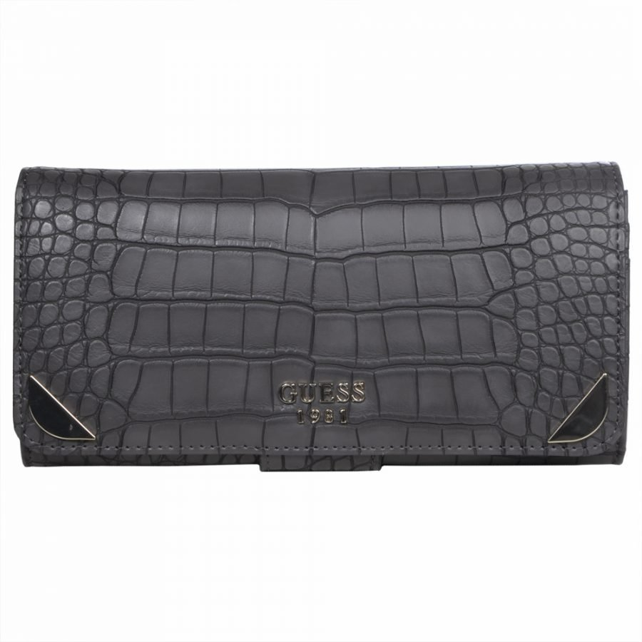 Guess Guess Trylee File Clutch Iso Kukkaro