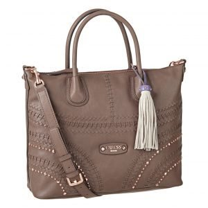Guess Hylah Whip Stitching Medium Tote Laukku