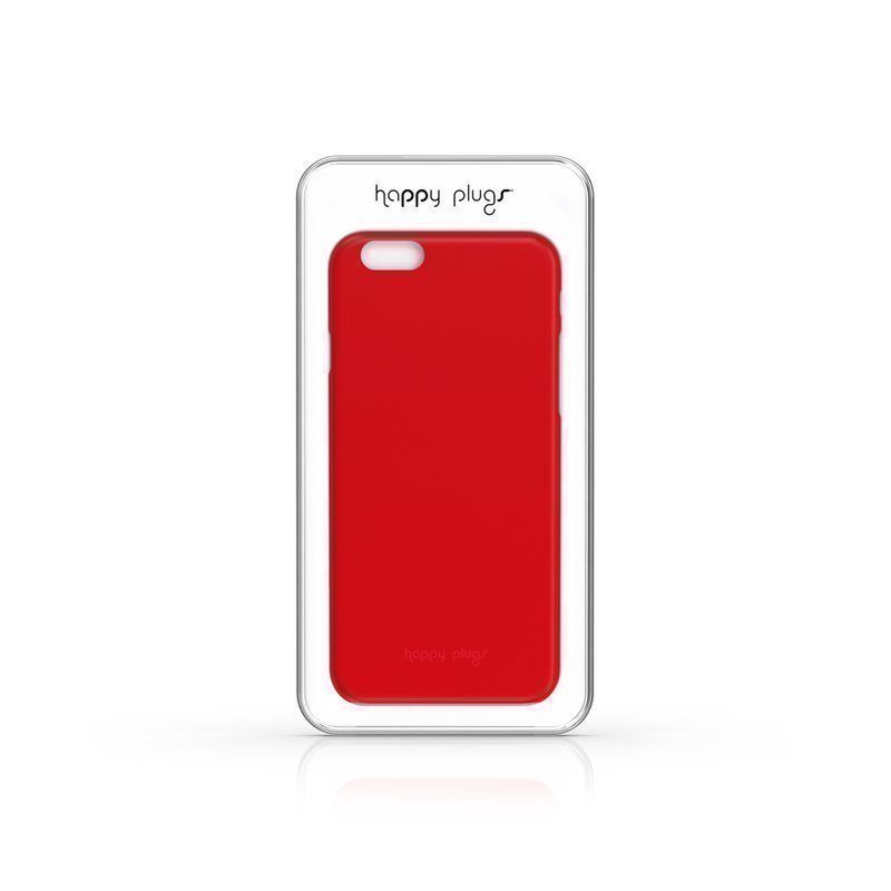 Happy Plugs Happy Plugs Ultra Thin iPhone 6 Case Red