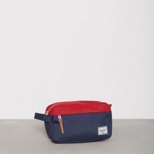 Herschel Chapter Toilettilaukku Navy/Red