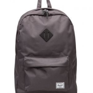 Herschel Heritage Charcoal/Black Native Rubber reppu