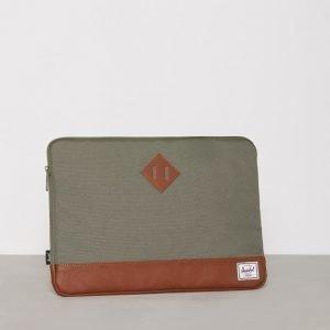 Herschel Heritage Sleeve for 15 inch Macbook Tietokonekotelo Green