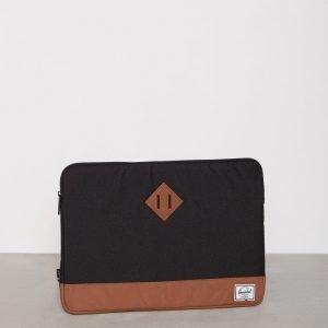 Herschel Heritage Sleeve for 15 inch Macbook Tietokonekotelo Musta