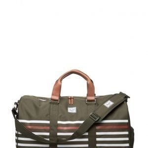 Herschel Novel Forest Night Off Str/Veg Tan L viikonloppulaukku