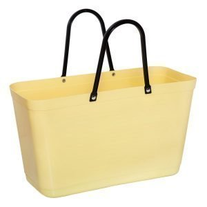 Hinza Laukku Iso Green Plastic Keltainen