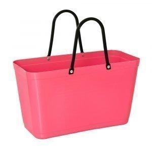 Hinza Laukku Iso Green Plastic Vaaleanpunainen