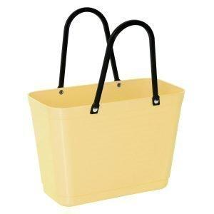 Hinza Laukku Pieni Green Plastic Keltainen