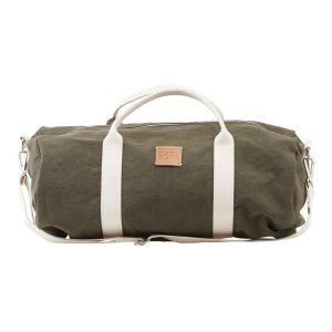 House Doctor Gym Bag Treenilaukku Army Green