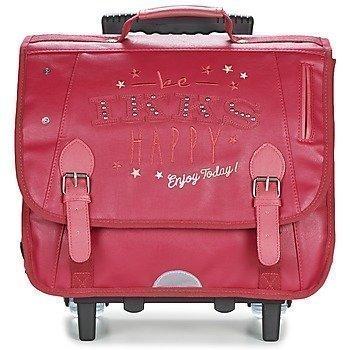 Ikks HAPPY TROLLEY CARTABLE 38CM pyörillä kulkeva koululaukku