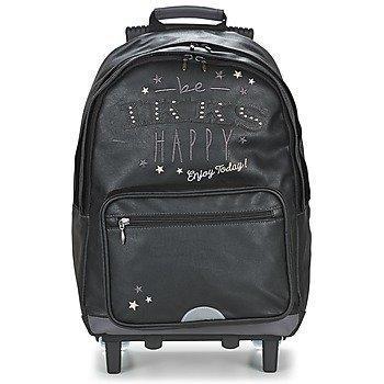Ikks HAPPY TROLLEY SAC A DOS L pyörillä kulkeva koululaukku