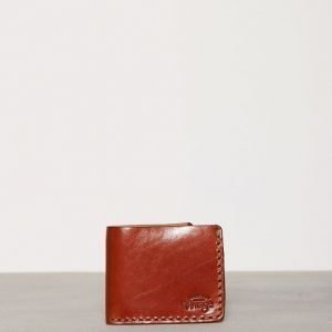 Jack & Jones jjvVINTAGE Luis Leather Wallet Lompakko Vaaleanruskea