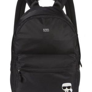 Karl Lagerfeld Ikonik Nylon Backpack Reppu