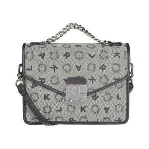 Karl Lagerfeld K / Jacquard Shoulderbag Laukku